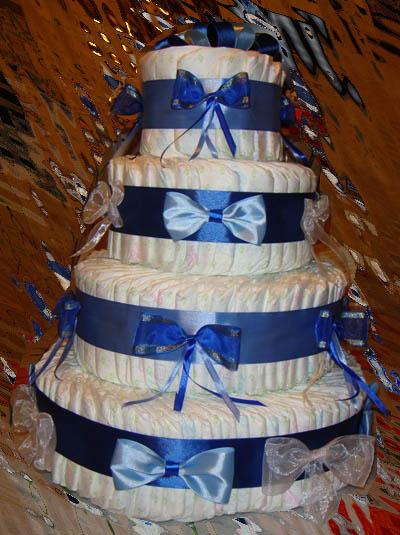 Подарок своими руками торт из памперсов своими руками